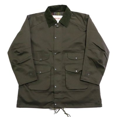 PORTRAITE (ポートレイト) / Classic Field Jacket Long (Twill) - OLIVE