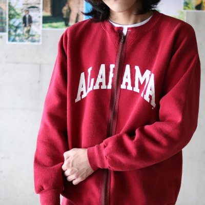 go-getter / Remake Zip Sweat 6 - BURGUNDY