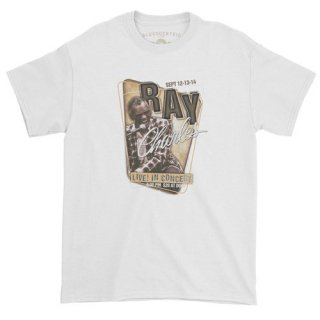 Ray Charles Concert Poster T-Shirt / Classic Heavy Cotton<img class='new_mark_img2' src='https://img.shop-pro.jp/img/new/icons57.gif' style='border:none;display:inline;margin:0px;padding:0px;width:auto;' />