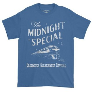 Creedence Clearwater Revival Midnight Special T-Shirt / Classic Heavy Cotton