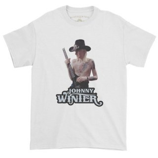 Johnny Winter Ltd T-Shirt / Classic Heavy Cotton<img class='new_mark_img2' src='https://img.shop-pro.jp/img/new/icons5.gif' style='border:none;display:inline;margin:0px;padding:0px;width:auto;' />