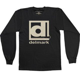 Delmark Records Long Sleeve T-Shirt / Classic Heavy Cotton