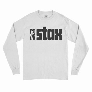 Stax Small Batch Throwback Snapping Fingers Long Sleeve T-Shirt / Classic Heavy Cotton<img class='new_mark_img2' src='https://img.shop-pro.jp/img/new/icons15.gif' style='border:none;display:inline;margin:0px;padding:0px;width:auto;' />