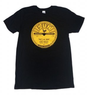 SUN Logo - Elvis That's All Right Tee / Classic Heavy Cotton