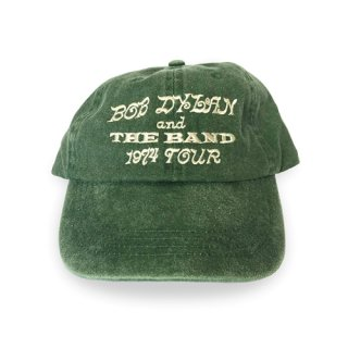 Bob Dylan and The Band 1974 Tour Unstructured Hat - Green<img class='new_mark_img2' src='https://img.shop-pro.jp/img/new/icons5.gif' style='border:none;display:inline;margin:0px;padding:0px;width:auto;' />