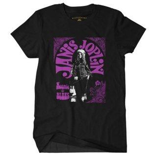 Janis Joplin Kozmic Blues T-Shirt / Classic Heavy Cotton