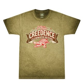 Creedence Clearwater Revival T-Shirt / Bayou Brown Oil-Wash