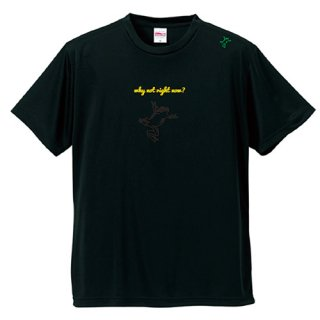 Frog Logo Black  'why not right now?'  T Shirts / Black<img class='new_mark_img2' src='https://img.shop-pro.jp/img/new/icons5.gif' style='border:none;display:inline;margin:0px;padding:0px;width:auto;' />