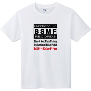 BSMF RECORDS Logo T Shirts / White<img class='new_mark_img2' src='https://img.shop-pro.jp/img/new/icons8.gif' style='border:none;display:inline;margin:0px;padding:0px;width:auto;' />