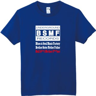 BSMF RECORDS Logo T Shirts / Royal<img class='new_mark_img2' src='https://img.shop-pro.jp/img/new/icons8.gif' style='border:none;display:inline;margin:0px;padding:0px;width:auto;' />