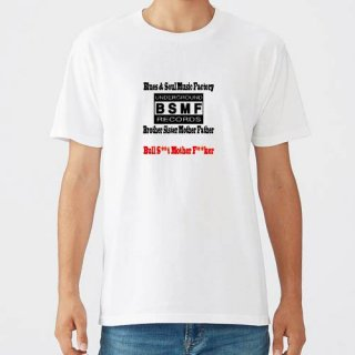 BSMF RECORDS Small Logo T Shirts / White<img class='new_mark_img2' src='https://img.shop-pro.jp/img/new/icons8.gif' style='border:none;display:inline;margin:0px;padding:0px;width:auto;' />
