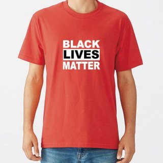 Black Lives Matter Logo T Shirts / Red<img class='new_mark_img2' src='https://img.shop-pro.jp/img/new/icons8.gif' style='border:none;display:inline;margin:0px;padding:0px;width:auto;' />