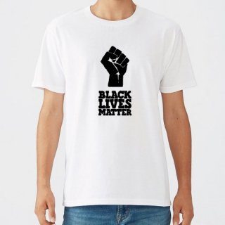 Black Lives Matter Hand Logo T Shirts / White<img class='new_mark_img2' src='https://img.shop-pro.jp/img/new/icons8.gif' style='border:none;display:inline;margin:0px;padding:0px;width:auto;' />