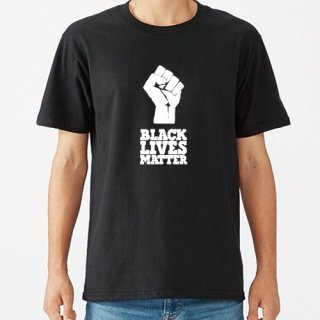Black Lives Matter Hand Logo T Shirts / Black<img class='new_mark_img2' src='https://img.shop-pro.jp/img/new/icons8.gif' style='border:none;display:inline;margin:0px;padding:0px;width:auto;' />
