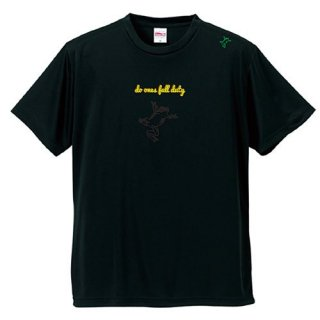Frog Logo Black 'do ones full duty' T Shirts / Black<img class='new_mark_img2' src='https://img.shop-pro.jp/img/new/icons5.gif' style='border:none;display:inline;margin:0px;padding:0px;width:auto;' />