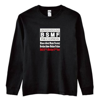 BSMF RECORDS Logo Long T Shirts<img class='new_mark_img2' src='https://img.shop-pro.jp/img/new/icons5.gif' style='border:none;display:inline;margin:0px;padding:0px;width:auto;' />