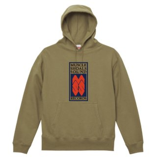 Muscle Shoals Sound Records label logo Parka Pullover<img class='new_mark_img2' src='https://img.shop-pro.jp/img/new/icons5.gif' style='border:none;display:inline;margin:0px;padding:0px;width:auto;' />