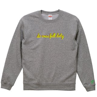 'do ones full duty' Sweat / Graphite Heather<img class='new_mark_img2' src='https://img.shop-pro.jp/img/new/icons15.gif' style='border:none;display:inline;margin:0px;padding:0px;width:auto;' />