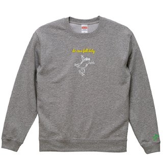 Frog Logo White 'do ones full duty' Sweat / Graphite Heather<img class='new_mark_img2' src='https://img.shop-pro.jp/img/new/icons15.gif' style='border:none;display:inline;margin:0px;padding:0px;width:auto;' />