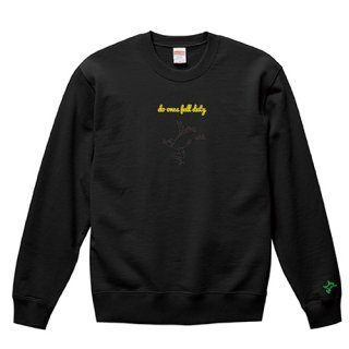 Frog Logo Black 'do ones full duty' Sweat / Black<img class='new_mark_img2' src='https://img.shop-pro.jp/img/new/icons15.gif' style='border:none;display:inline;margin:0px;padding:0px;width:auto;' />