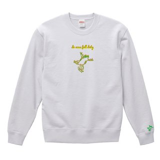 Frog Logo 'do ones full duty' Sweat / White<img class='new_mark_img2' src='https://img.shop-pro.jp/img/new/icons15.gif' style='border:none;display:inline;margin:0px;padding:0px;width:auto;' />