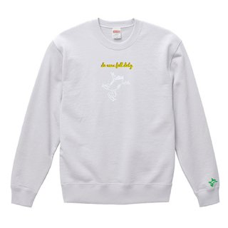 Frog Logo White 'do ones full duty' Sweat / White<img class='new_mark_img2' src='https://img.shop-pro.jp/img/new/icons15.gif' style='border:none;display:inline;margin:0px;padding:0px;width:auto;' />