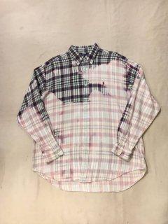 90s Ralph Lauren Bleached Check Shirt