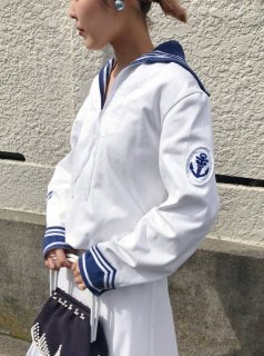 Vintage Sailor Collar Top