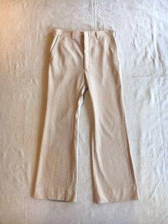 70s Check Flare Pants