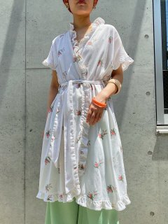 Vintage Ruffle Gown