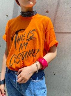 89s Orange Color T-shirt