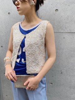 Vintage 40s~50s Spangle Vest