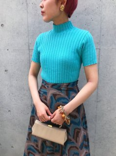 Vintage Blue Summer Knit