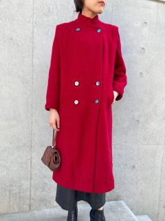 <img class='new_mark_img1' src='https://img.shop-pro.jp/img/new/icons50.gif' style='border:none;display:inline;margin:0px;padding:0px;width:auto;' />Lady's Red Wool Coat