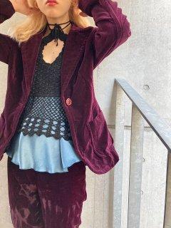 Lady's Velour Jacket