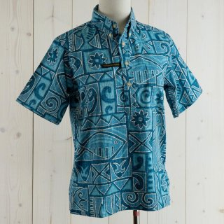 <img class='new_mark_img1' src='https://img.shop-pro.jp/img/new/icons14.gif' style='border:none;display:inline;margin:0px;padding:0px;width:auto;' />reyn spooner Hawaiian shirt サックス