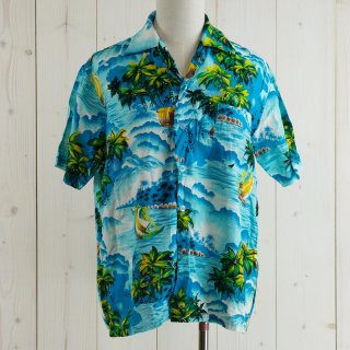 <img class='new_mark_img1' src='https://img.shop-pro.jp/img/new/icons14.gif' style='border:none;display:inline;margin:0px;padding:0px;width:auto;' />MAC HENRY Hawaiian shirt ブルー
