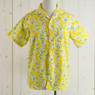 <img class='new_mark_img1' src='https://img.shop-pro.jp/img/new/icons14.gif' style='border:none;display:inline;margin:0px;padding:0px;width:auto;' />west side Hawaiian shirt イエロー