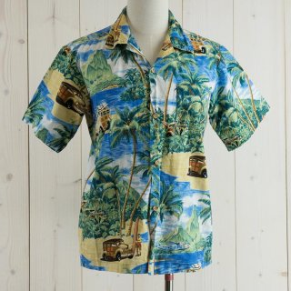 <img class='new_mark_img1' src='https://img.shop-pro.jp/img/new/icons14.gif' style='border:none;display:inline;margin:0px;padding:0px;width:auto;' />Nui Nalu Hawaiian shirt ブルー