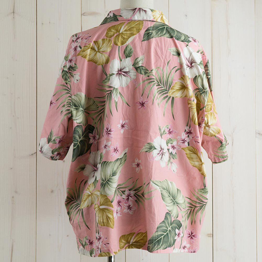 <img class='new_mark_img1' src='https://img.shop-pro.jp/img/new/icons14.gif' style='border:none;display:inline;margin:0px;padding:0px;width:auto;' />Bishop St. Hawaiian shirt ピンクサムネイル