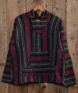 古着 Mexican parka |メキシカンパーカー パープル系 古着のネット通販 古着屋グレープフルーツムーン