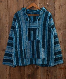 古着 Mexican parka |メキシカンパーカー ブルー 古着のネット通販 古着屋グレープフルーツムーン