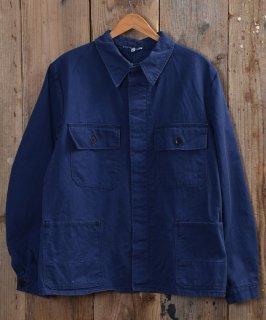 古着German cotton twill work jacket | ドイツ製コットンツイル ユーロワークジャケット 古着のネット通販 古着屋グレープフルーツムーン