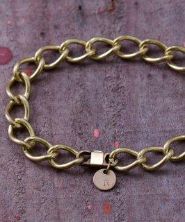 古着Kihei Chain Bracelet | 真鍮製 喜平チェーンブレスレット 古着のネット通販 古着屋グレープフルーツムーン