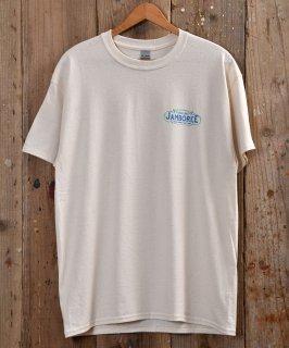 """古着 """"JAMBOREE"""" T Shirt   「ジャンボリー」Tシャツ  アイボリー/グリーン 古着のネット通販 古着屋グレープフルーツムーン"""