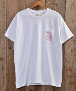 """古着 """"Vietnam Turtle"""" T Shirt  「Vietnam Turtle」プリントTシャツ ホワイト/グリーン 古着のネット通販 古着屋グレープフルーツムーン"""