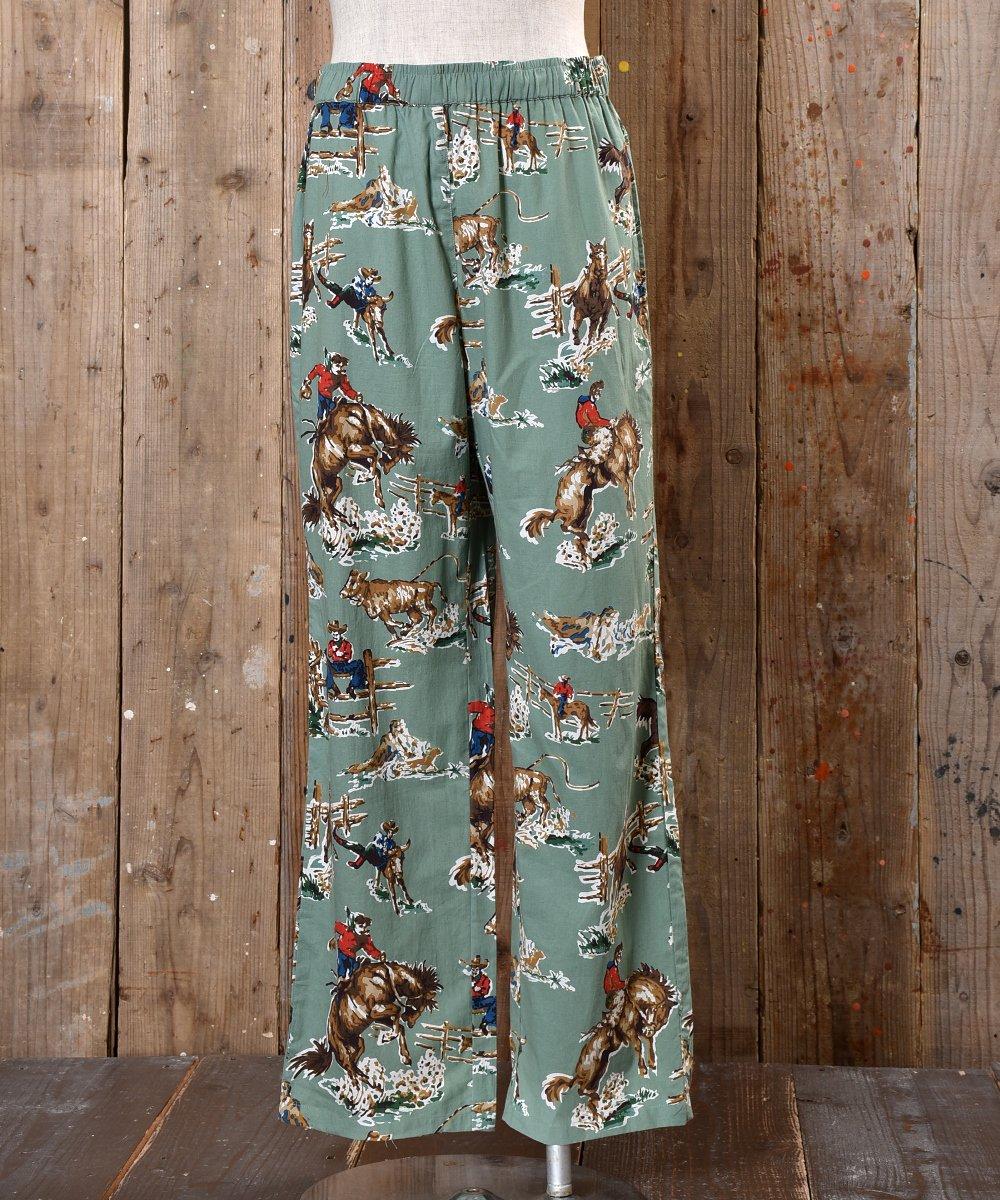 Cowboy pajamas Pants カウボーイ総柄パジャマパンツサムネイル