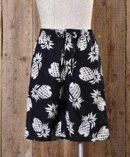 古着 Pineapple pattern Short Pants|パイナップル柄ショートパンツ 古着のネット通販 古着屋グレープフルーツムーン