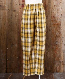古着 Check Easy Pants|チェック柄イージーパンツ 古着のネット通販 古着屋グレープフルーツムーン