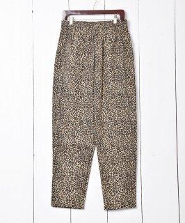 古着 Leopard pattern Easy Pants|レオパード柄イージーパンツ 古着のネット通販 古着屋グレープフルーツムーン